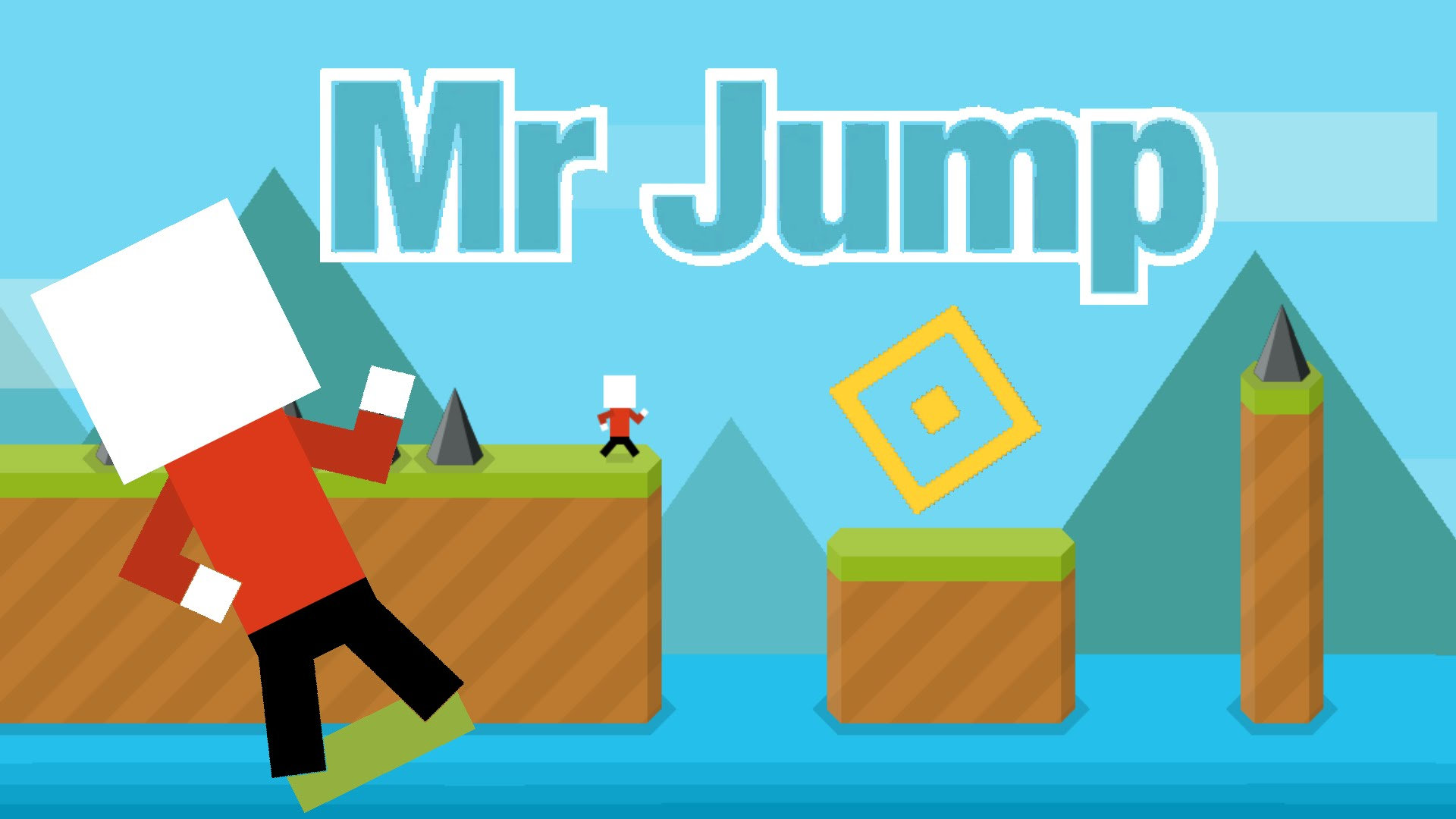 Mr Jump is the new Flappy Bird