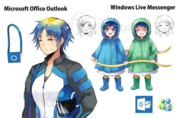 Outlook and Windows Live Messenger