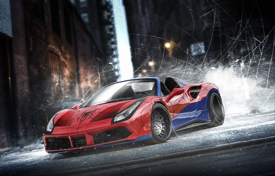Spider-Man – Ferrari 488 Spider