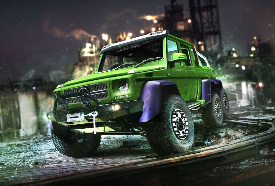 The Hulk – Mercedes G63 AMG 6×6