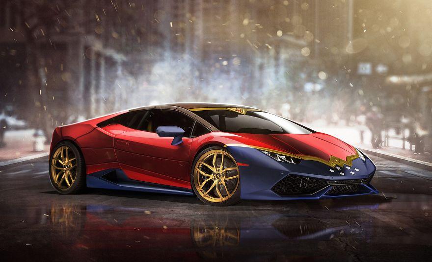 Wonder Woman – Lamborghini Huracán
