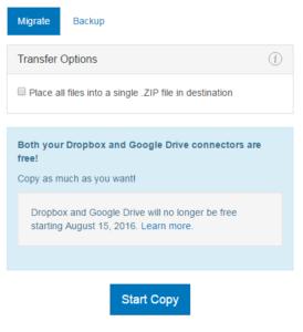 Migrate - Zip - Copy