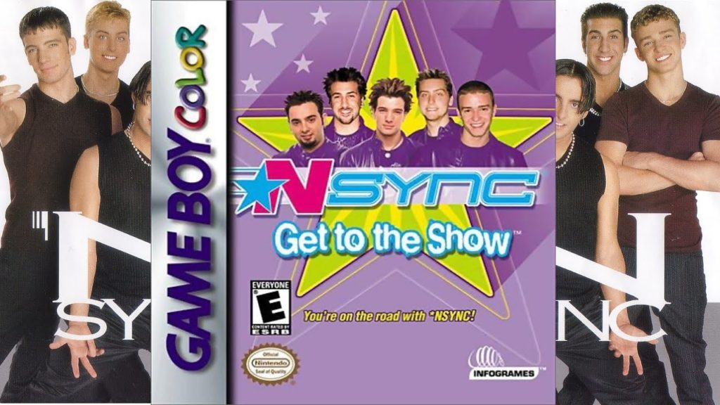 NSYNC Get To The Show Stupid game