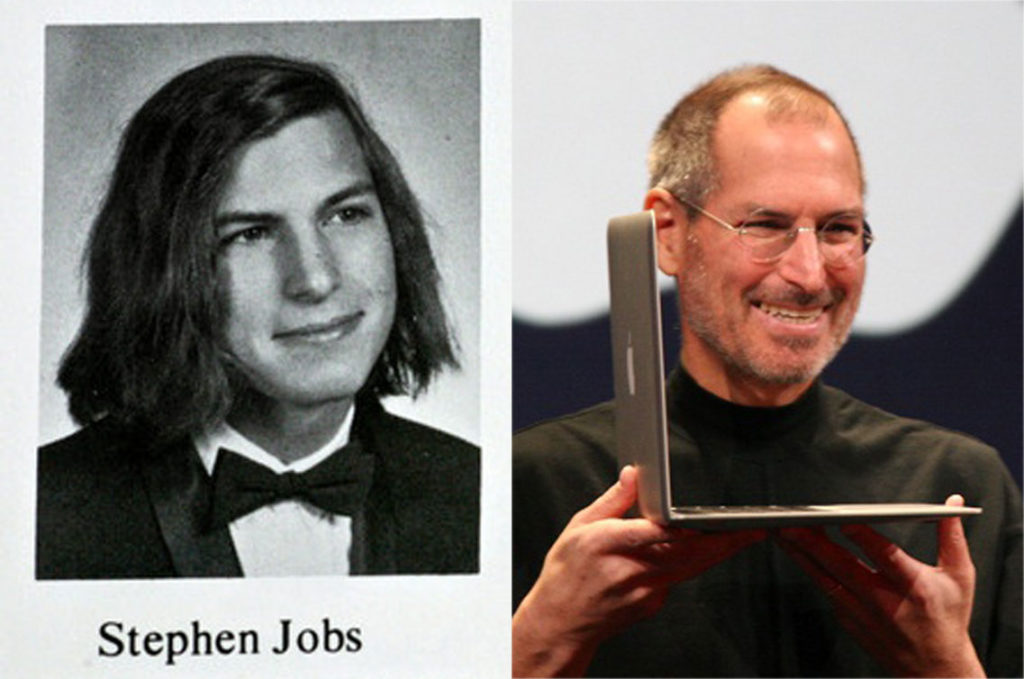 steve-jobs-co-founder-of-appalce-old-high-school-picture