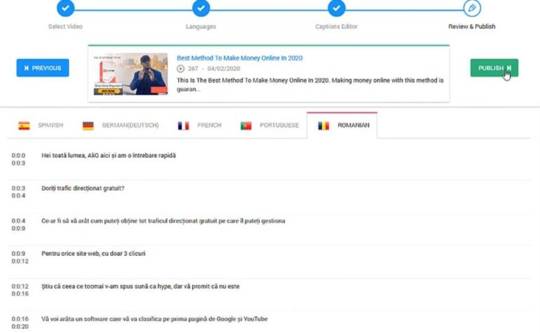 Make Your YouTube Videos Translatable into 102 Languages Without Hiring a Translator